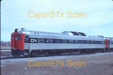 Original slide- CN RDC1 #6108 At Niagra Falls,ON. 1975