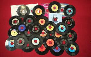 45RPM Record Assortment - FOX, Columbia, Mercury, Disney, MGM, etc