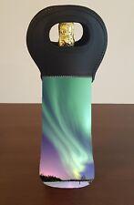 Aurora Borealis Wine Bottle Cooler Bag