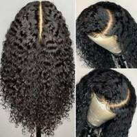 Pre Plucked Lace Front Wig 9A Brazilian Remy Human Hair Full Lace Wig Curly Wavy