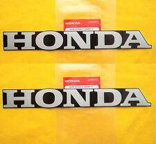 Honda Frame Emblems Stickers Decals x 2 CF50 CF70 C90 MONKEY DAX CHALY *GENUINE*