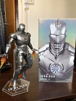 In-Stock ! ZD TOYS Iron Man MK 2 Mark II 7'' Action Figure Marvel Avengers MCU