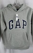 Boys Gap Gray blue Arch logo NWT 8 Medium pullover hoodie sweatshirt M