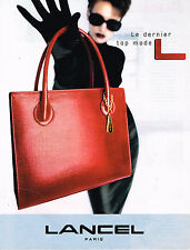 PUBLICITE ADVERTISING 084  1997  LANCEL  maroquinerie sacs TOP