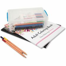 Advantus Super Stacker Large Pencil Box 9 x 5 1/2 x 2 5/8 Clear 37539