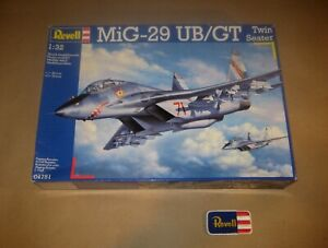 REVELL 04751 - MiG 29 UB / GT - Twin Seater / Doppelsitzer - 1 32 - SEALED - RAR