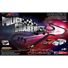 AFX Police Chaser 30-Foot Mega G+ HO Slot Car Racing Set 22019 - FREE SHIPPING!