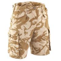 New Genuine GB British Army NATO DPM Desert Camo BDU Combat Bermuda Shorts