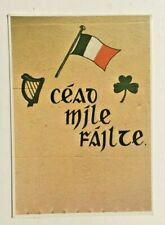 IRISH POSTCARD ,CEAD MILE FAILTE, IRELAND