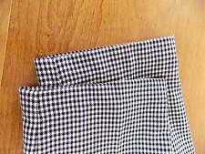 NWT Wool Pendleton Career slacks pants Black- White Houndstooth Sz 12 Lined