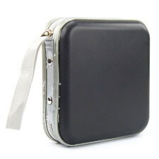 CD Dvd 40 Disc Storage Carry Case Cover Wallet Holder Bag Plastic Games Disk