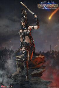 1/6 Scale TBLeague, Phicen Spartan Army Black Commander Figure Set PL2020-165A