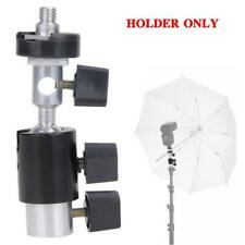 Hot Shoe Photo Flash Adapter Schwenkbare Lichthalterung für Regenschirmhalterung