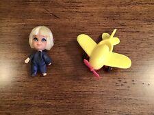 New listing Vintage 1960's Mattel Liddle Kiddles WINDY FLIDDLE Doll & Airplane