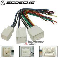car radio wiring harness scosche car audio and video wire harnesses mach audio car stereo cd player wiring harness wire