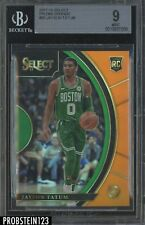 2017-18 Select Orange Prizm #93 Jayson Tatum Celtics RC Rookie /75 BGS 9