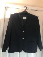 Woolen V-Neckline Patternless Coats & Jackets for Women