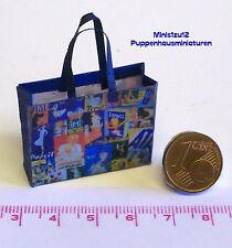4208# Papiertasche - Waschmittel-Werbetasche - Puppenhaus - Puppenstube - M1zu12