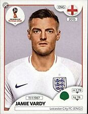 panini 2018 world cup sticker number 591 Jamie vardy