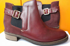 Hugo Boss Damar women's dark red boots size 42 EU (8 UK)*