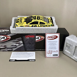 2013 RCCA ELITE Daytona 500 Winner Jimmie Johnson Lowes 1:24 Action Diecast Mint