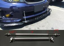 "Silver 4""-7"" Strut Shock Rod Support for splitter Bumper Lip Diffuser Spoiler"