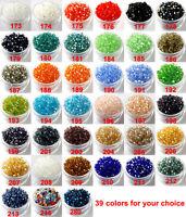 DIY Wholesale 3mm,4mm Glass Crystal #5301 Bicone beads 39 colors U PICK !