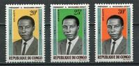37985) Congo Rep. 1965/66 MNH Pres. Massamba-Debat 3v