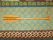 'Up the Creek' Mini canoe paddle