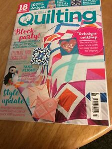 Love Patchwork and Quilting Magazine Issue 97 Magazine Plus Gift Of Templates
