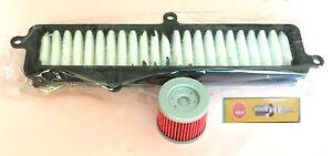 Service kit- Plug Air & Oil filter for SUZUKI UH UH125 Burgman 2007-18