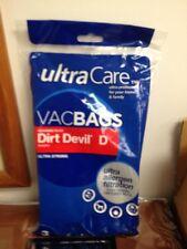 Ultra Care Dirt Devil Type D  Vacuum Bags Ultra Allergen Filtration Ultra Strong
