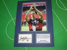 Joey Barton firmato QPR QUEENS PARK RANGERS 2014 WEMBLEY PLAY OFF vincitori MOUNT