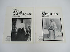 Texas Mexicans Afro-Americans Local History Culture Black Americana