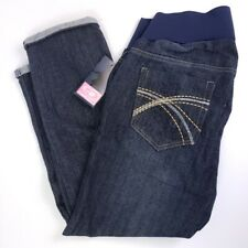 Times 2 Large Maternity Jeans Dark Comfort Band