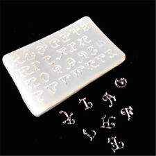 1pc letters Silicone Mould DIY Resin Decorative Craft Jewelry Making resin molds
