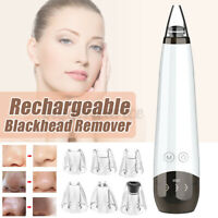 USB Rechargeable Blackhead Remover Face Pore Skin Care Acne Pore Cleaner Pimple