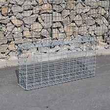 Gabione 100x50x20 cm Steingabionen Steinkorb Gabionen Wand Drahtkorb Mauer 5x10