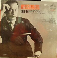 ALEXIS WEISSENBERG CHOPIN SONATA IN B MINOR AND 2 SCHERZO'S 1967 RCA SEALED MONO