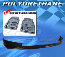 FOR FORD MUSTANG V8 2005-2009 T-S FRONT BUMPER LIP + DICKIES FLOOR MAT GREY