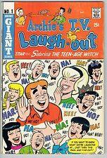 ARCHIE'S T.V. LAUGH-OUT #1 KEY ARCHIE COMICS SERIES SILVER 1969 FN+ RARE GRADE