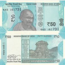 India - 50 Rupees 2017 UNC NEW Lemberg-Zp