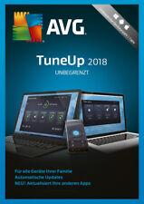 AVG TuneUp Unbegrenzt 2018 * 1 Jahr * Vollversion * DE Lizenz * ZEN