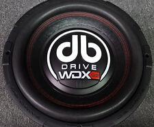 New DB Drive 2017 Model WDX10G2-4 10'' Subwoofer / 2000 Watts / 4 Ω Dual Voice