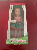 Wellie Wisher Willa American Girl doll Welliewisher New With Box Damage As Seen