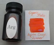 Organics Studio Arginine Orange Shimmer Fountain Pen Ink
