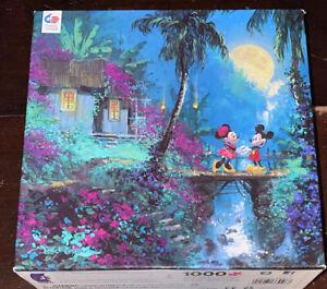 Disney James Coleman MICKEY & MINNIE Mouse Moonlight Proposal 1000 Piece Jigsaw