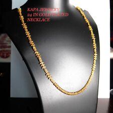 Indian Asiático Elegante Collar Cadena de oro plateado conjuntos de joyería de moda