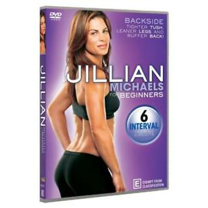 NEW: Jillian Michaels For Beginners - Backside (Workout DVD)