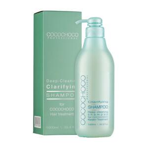 COCOCHOCO Reinigendes shampoo 1000 ml   Vegan   Ohne Parabene   Ohne Sulfate